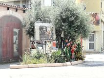 San Sperate Sardinia fantastic garden Stock Images
