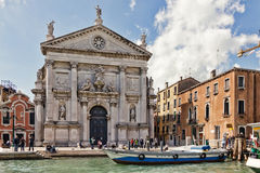 San Stae Church in Venice Royalty Free Stock Photography