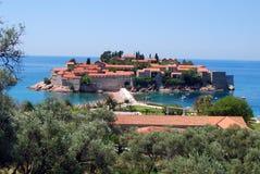 San Stefan, Montenegro Imagens de Stock