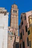 San Stefano church located at Venice, Italy Royalty Free Stock Photography