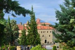 San Stephen Holy Monastery, Meteora, Grecia Fotografie Stock