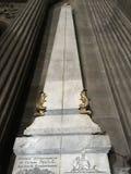 San-Sulpice delle gnomone Fotografie Stock Libere da Diritti