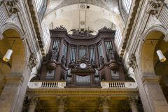 San Sulpice, Parigi, Francia di Eglise Fotografie Stock