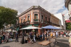 SAN Telmo στο Μπουένος Άιρες, Αργεντινή στοκ εικόνες