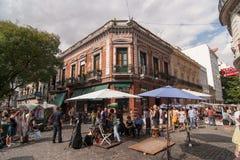 San Telmo in Buenos Aires, Argentinien stockfoto