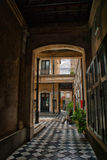 San Telmo Buenos Aires. Old Spanish Colonial Building in Buenos Aires Royalty Free Stock Image