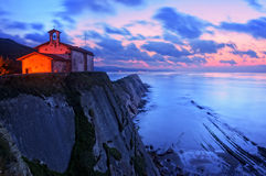 San Telmo chapel in Zumaia Stock Photo