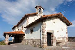 San Telmo Ermitage, Zumaia. San Telmo Ermitage in Zumaia, Gipuzkoa, Basque Country, Spain Royalty Free Stock Images