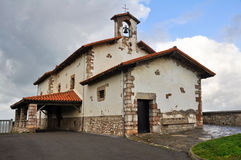 San Telmo hermitage, Zumaia, Basque Country, Spain Royalty Free Stock Image