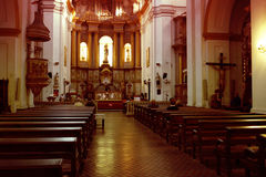 San Telmo kyrka arkivfoton