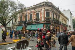 San Telmo Market, Buenos Aires Stock Photos