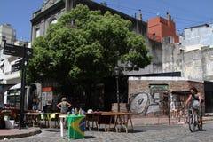 San Telmo okręg w Buenos Aires Zdjęcia Royalty Free