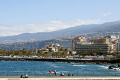 San Telmo promenade Stock Photo