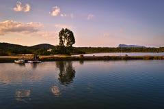 San Teodoro Becken in Sardinien Stockfotografie
