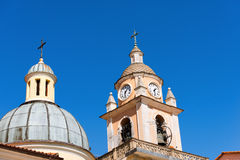 San Terenzo Church - Liguria Italy Stock Photography