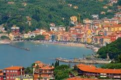 San Terenzo in Liguria Stock Photo