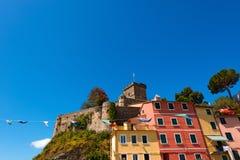 San Terenzo slott - Liguria Italien Royaltyfria Foton