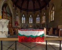 San Thomas Church Altar Immagini Stock Libere da Diritti