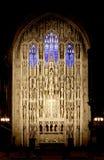 San Thomas Church, situato alla città di Manhattan, nuovo Yo Fotografia Stock Libera da Diritti