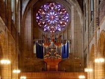 San Thomas Church, situato alla città di Manhattan, nuovo Yo Fotografia Stock