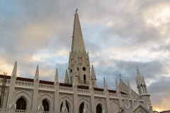 San Thome Basilica Cathedral in Chennai, Southern. San Thome Basilica Cathedral Church in Chennai, Southern India stock photos