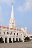 San Thome Basilica. In Chennai, India Royalty Free Stock Photo