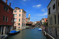 San Trovaso, Venice Royalty Free Stock Images
