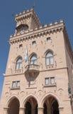 San urząd miasta Marino's Obrazy Stock