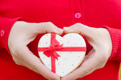 San Valentín - wedding cookie. Royalty Free Stock Images