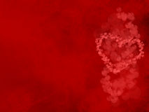 San valentine heart background. Background for valentine day with abstract heart Stock Image
