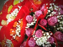 San Valentino bukiet Obrazy Stock