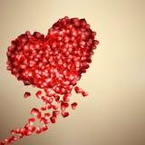 San Valentino con i cuori. + EPS10 Immagini Stock