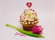 San Valentino del bigné Immagini Stock Libere da Diritti