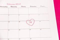 San Valentino del san - 14 di febbraio Fotografie Stock Libere da Diritti