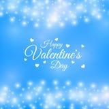 San Valentino della struttura dei cuori Fotografia Stock