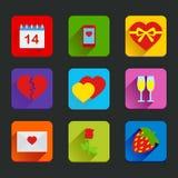 San Valentino delle icone Fotografia Stock