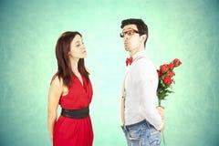 San Valentino divertente. Immagini Stock Libere da Diritti