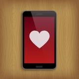 San Valentino e concetto di amore Fotografia Stock Libera da Diritti
