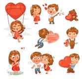San Valentino felice illustrazione di stock