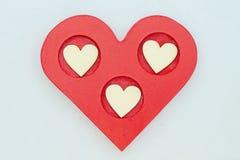San Valentino felice Fotografie Stock