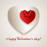 San Valentino felice! Fotografia Stock