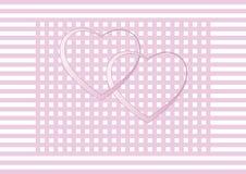 San Valentino, partecipazione di nozze, invito Fotografia Stock