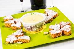 San Valetin cookies Stock Photos
