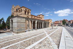 San Vicente Basilica in Avila, Spain Royalty Free Stock Photo