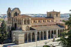 The San Vicente Basilica in Avila, Spain Royalty Free Stock Photo
