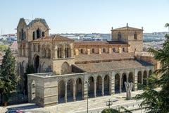 The San Vicente Basilica in Avila, Spain Royalty Free Stock Photo
