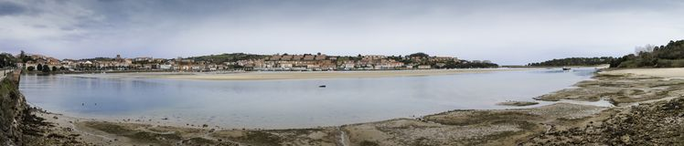 San Vicente de la barquera - Cantabria fotografia stock