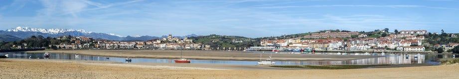 San Vicente de la Barquera, Cantabria Stock Photo