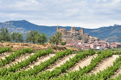 San Vicente de la Sonsierra, La Rioja (Spain) Royalty Free Stock Images