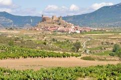 San Vicente DE La Sonsierra, La Rioja, Spanje Stock Fotografie